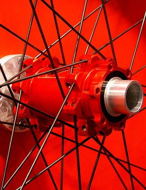 The Red Fire will come with a 20mm front hub