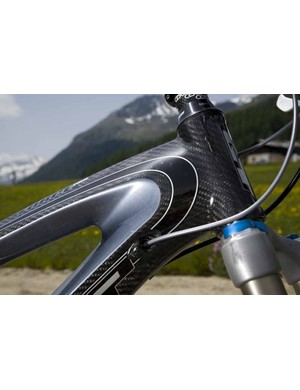 The Force Pro's head-tube.