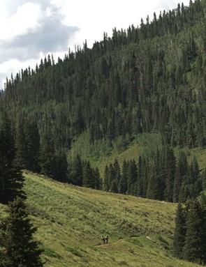 Colorado mountains - the Fuel EX's natural habitat