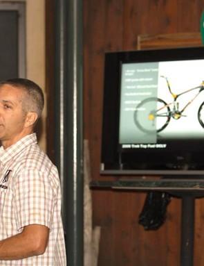 Trek's John Riley introduces the new Top Fuel