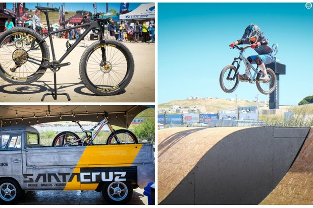 Here's a look at some of the new bikes, components and other cool things on display at this year's Sea Otter expo
