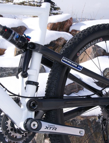 The HiFi XC frame design is based on the HiFi Trail but with shorter travel and racier geometry.