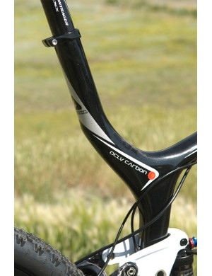 The extended seat tube, aka 'no-cut' seat mast