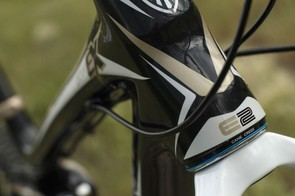 E2 tapered steerer increases front end precision