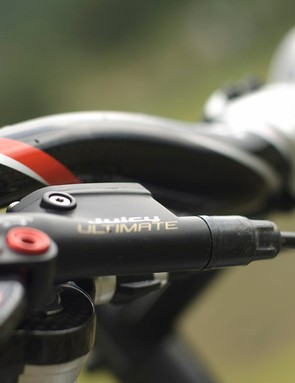 Sweetly controlled stopping power from the Avid Juicy Ultimate brakes
