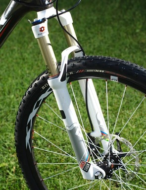 A top-end RockShox SID World Cup is on the 9.9 SSL