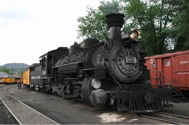 The Durango-Silverton railway is a big tourist attraction