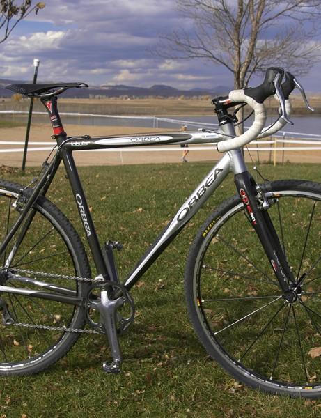 Georgia Gould's Orbea Lobular cyclo-cross bike