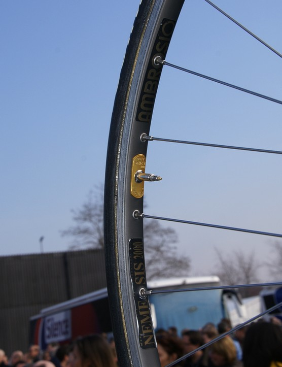 Ambrosio is the rim brand of choice for Gerolsteiner.