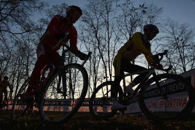 Adrian Lansley (Pedal On) won round 11 of the Wessex Cyclo-Cross League and Tim Dunford took the series lead