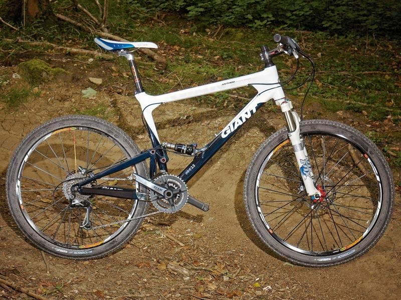 6725483d3af Giant Anthem Advanced 2007 - BikeRadar