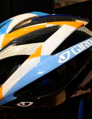 Giro's Garmin-Chipotle Ionos helmet.