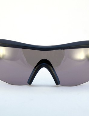 Optical quality is excellent and the frame meshes perfectly with every helmet retention system tried