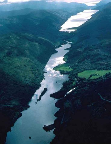 Scotland's Great Glen is a spectacular natural feature