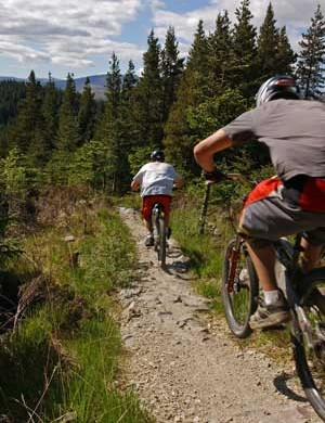 There is plenty of mountain biking on offer as part of the Great Glen Ways Project