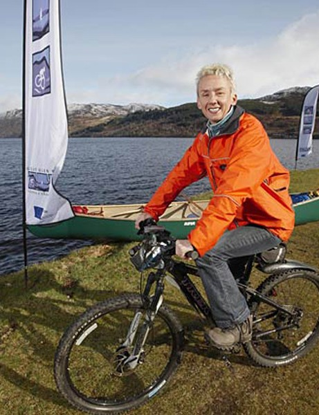Muriel Gray launched the Great Glen Ways Project