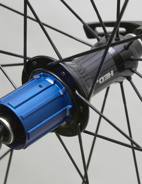HED-designed hubs are used front and rear.