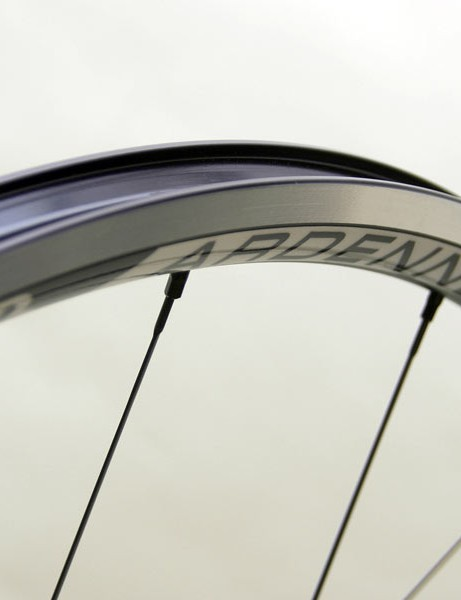 There's claimed lower rolling resistance, better grip and improved aerodynamics when using 23c tires