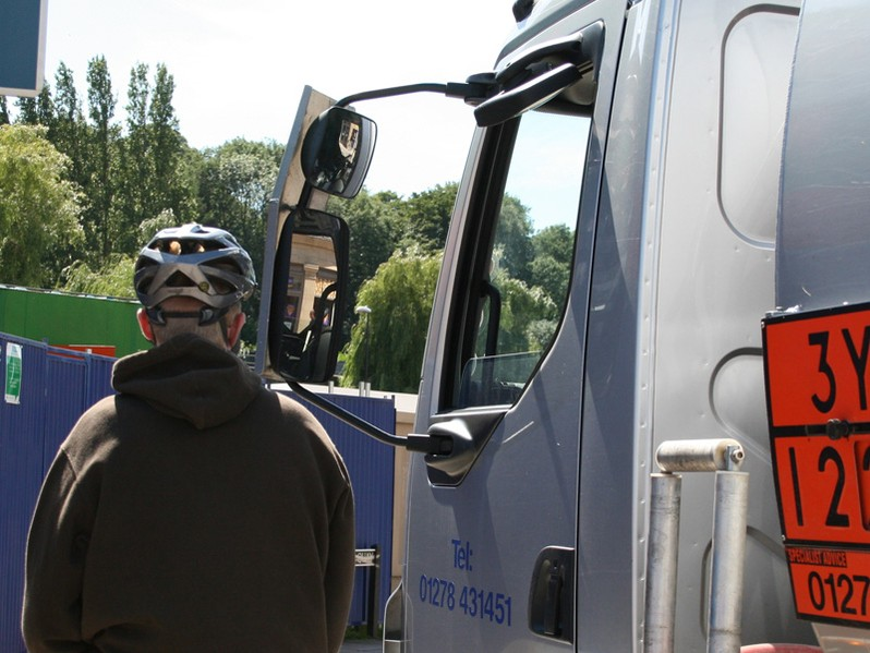 Death by lorry in the news again