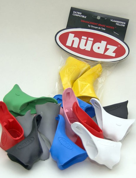 Hudz hoods provide a splash of colour and their modified shapes also promise improved ergonomics.