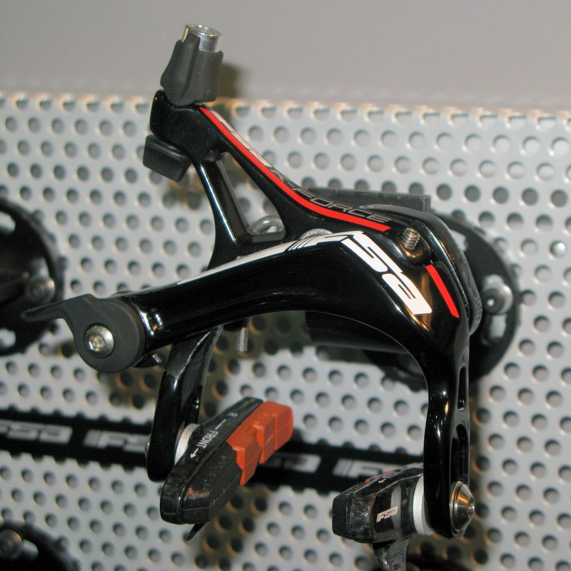 The new K-Force brake heralds the look and feel of the the imminent groupset