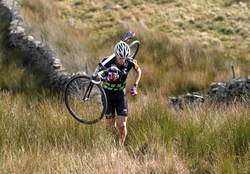 Three Peaks winner Rob Jebb in action