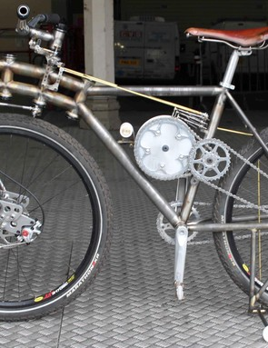The Adjustable Geometry Bike, from Robin Mather Cycles – aka The Beast