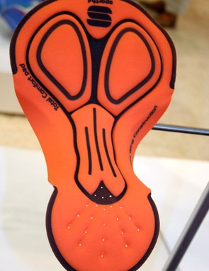 A lot of the shorts' comfort is built upon Sportful's own multidensity seat insert.