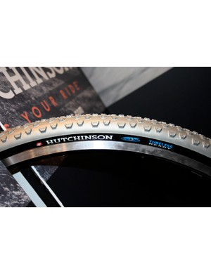 The Hutchinson Bulldog has a knobbier tread for muddier conditions.