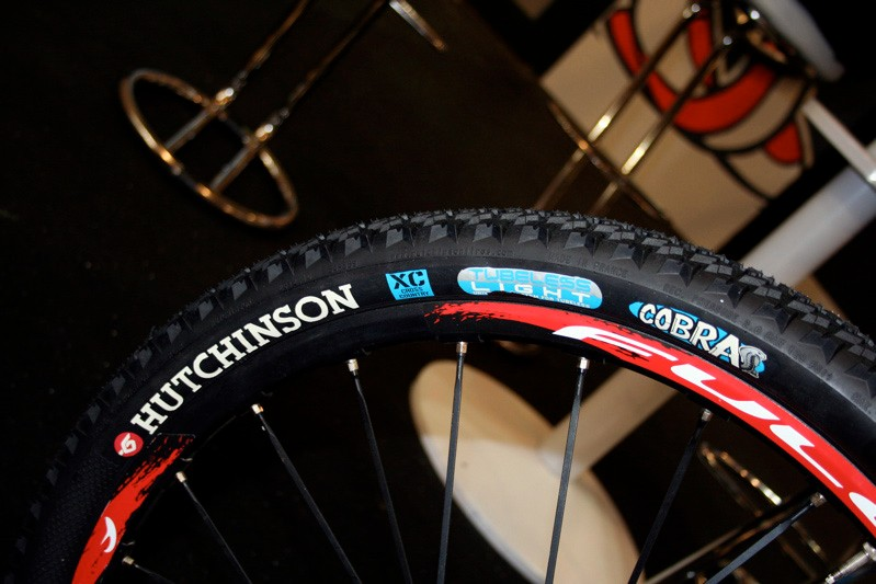 The Hutchinson Cobra is its new fast-rolling MTB XC tyre.