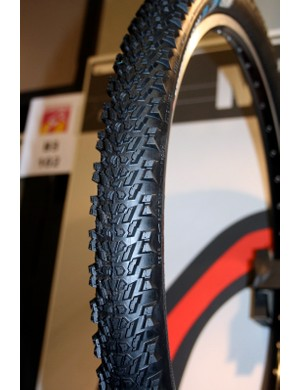 The new Cobra has a fast-rolling tread with higher knobs at the sides for sure cornering.