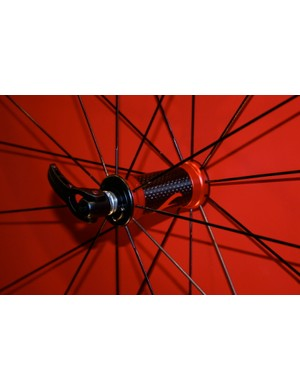Racing Light XLR wheels now have carbon hubs…