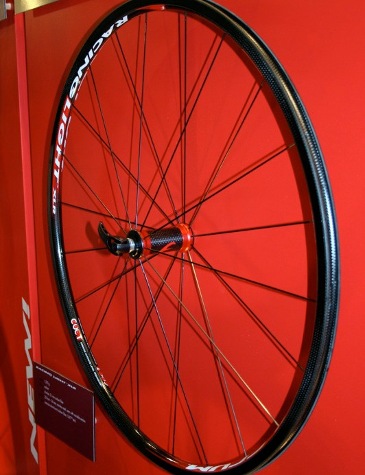 Fulcrum Racing Light XLR wheels have been upgraded in line with Campagnolo's carbon wheels.