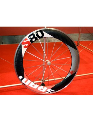 For 2009, SRAM is launching	its own brand of wheels, based on Zipp's Flash-Point range.