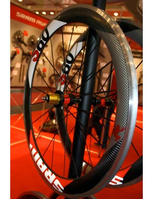 All of SRAM's new wheelsets	are compatible with clincher tyres.