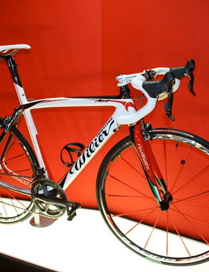 The Wilier Triestina Cento Uno is the Italian company's new top-of-the-range frame.