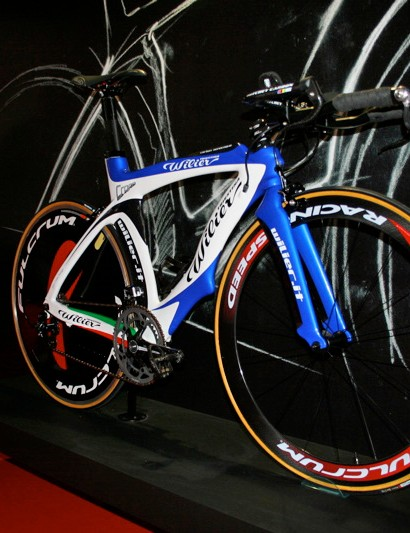 The Wilier Cento Crono is its top-end time trial and triathlon frame.