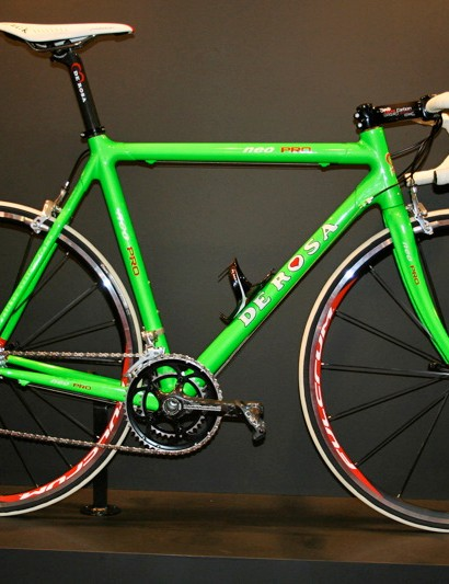 The Neo Pro is available in a number of colours, including a rather bright green.