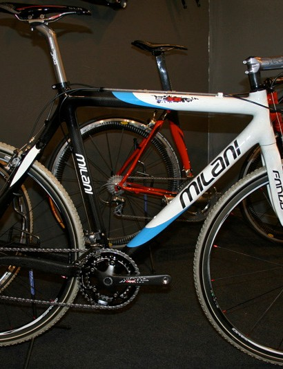 Milani's range also includes the carbon Fango cyclo-cross frame.
