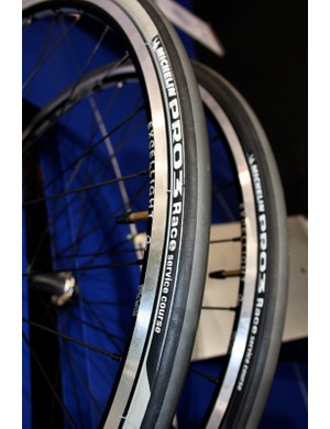 Michelin Pro Race 3 tyres now come in black and an off-white ivory…