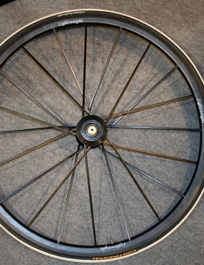 Lightweight has improved the Ventoux with the all-carbon Generation III spokes introduced on the Standard last year.