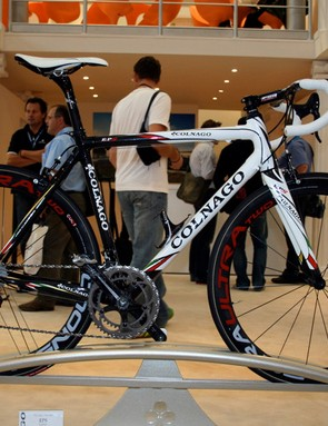 The Colnago EPS is the Italian company's new top frame for 2009.