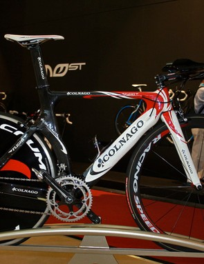 The Colnago Flight is the company's fastest looking time trial frame to date.