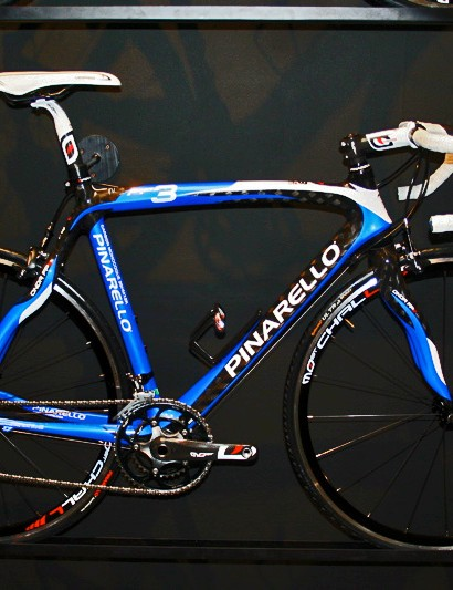 The new Pinarello FP3 is based heavily on the styling of the Prince…