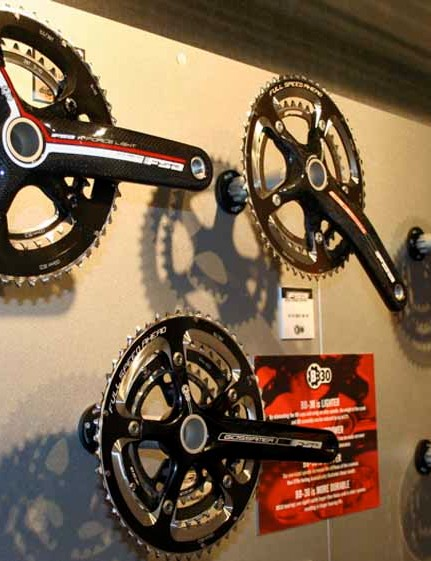 BB30 is spread	right across the FSA range of chainsets…