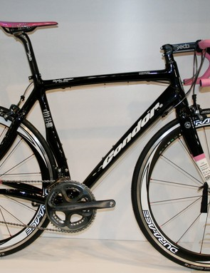 Condor's Leggera gets a completely new look for 2009 and is the team bike of Rapha-Condor-Recycling.co.uk.