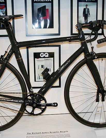 Condor now makes a limited edition bike bespoke London tailor Richard James.