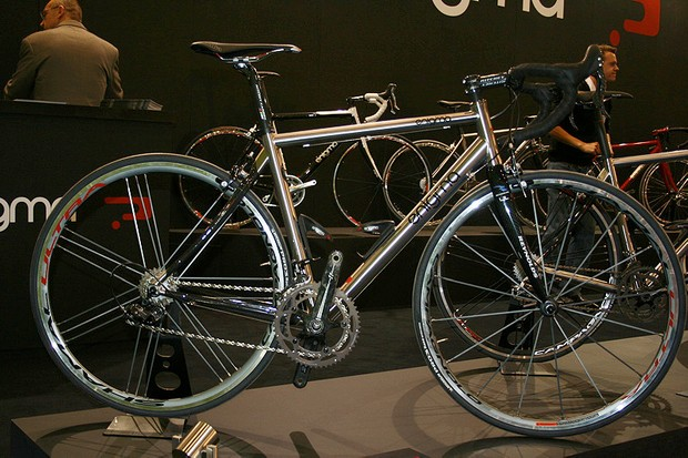 Enigma's range-topping Eulogy now comes without the extended seat tube though it's still available as an option.