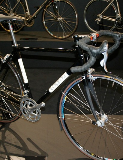 More steel frames are available from Enigma in the form of this touring/audax frame.