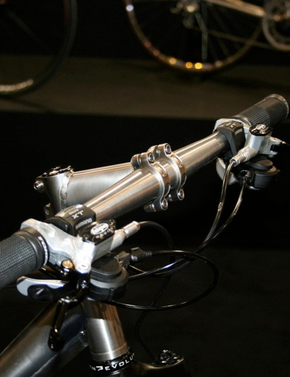 Enigma is expanding its accessory range to include a pair of titanium mountain bike bars.